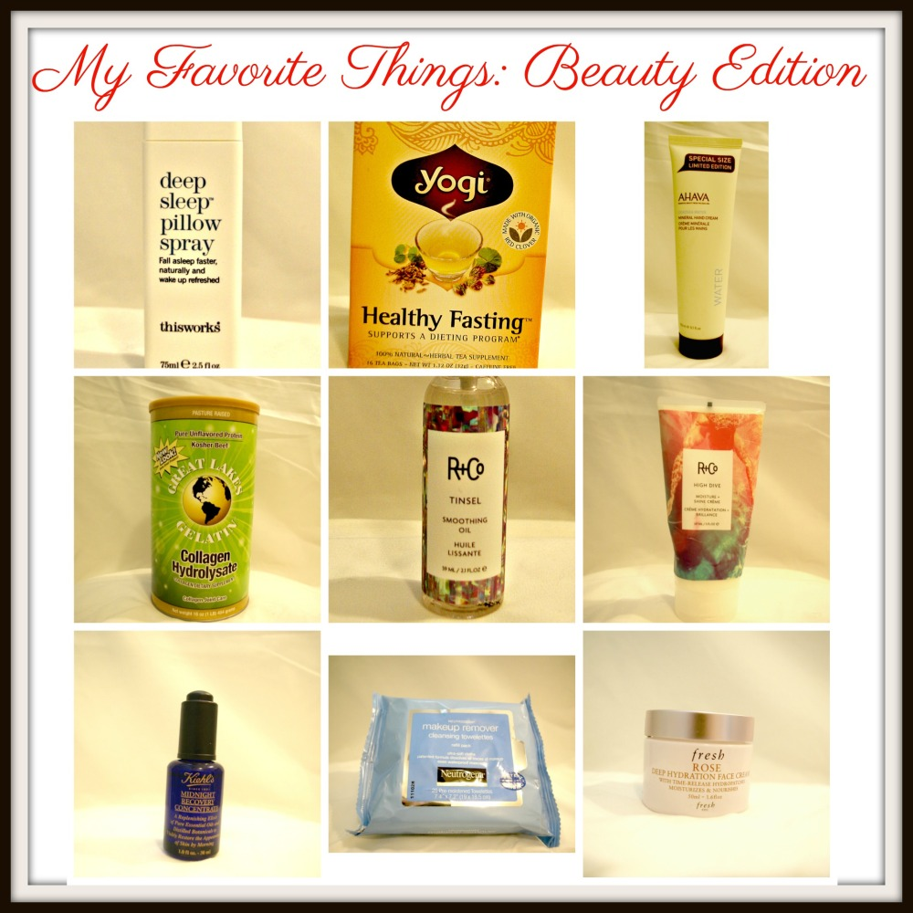 Favorite ThingsBeauty Edition